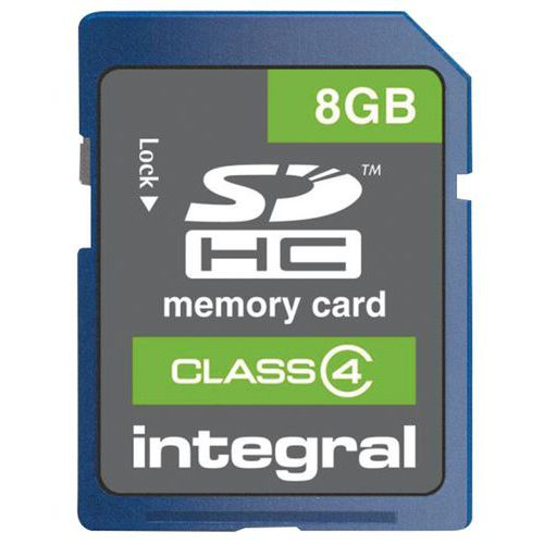 Carte mémoire SDHC Intégral class 4