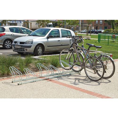 Fahrradständer- doppelseitig - 4, 6 und 8Stellplätze- Manutan