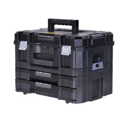 koffer und koffer mit 2 schubladen tstak manutan schweiz. Black Bedroom Furniture Sets. Home Design Ideas
