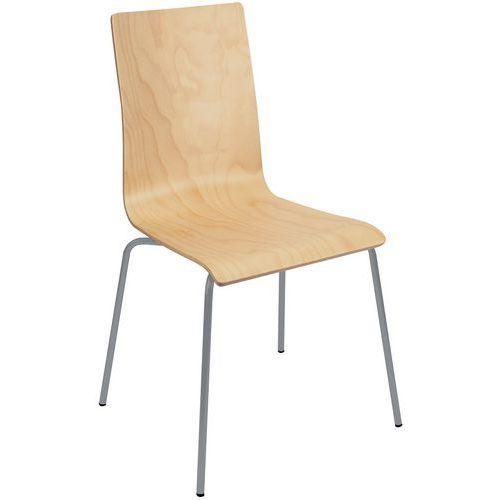 Chaise Restaurant Coque Bois