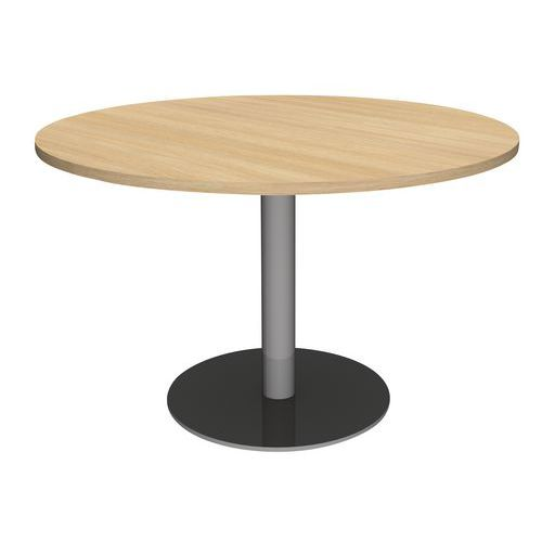 Table Ronde Pied Central Manutan