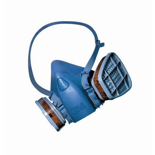 Demi-masque respiratoire réutilisable série 7502