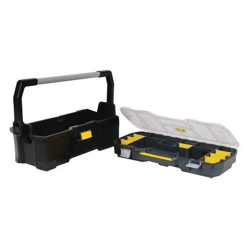 Boîte à outils avec organiseur