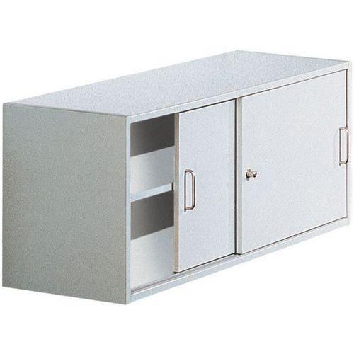container mit schiebet ren f r regal combi theek manutan. Black Bedroom Furniture Sets. Home Design Ideas