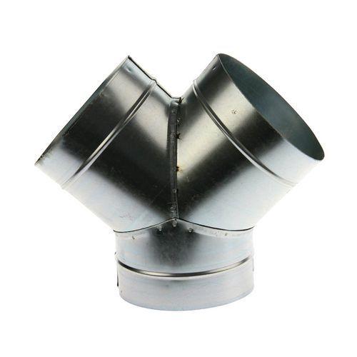 45°-Abzweigung für starre Entlüftungsschläuche - Ø 80 bis 125mm