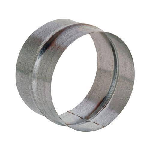 Raccord mâle pour gaines de ventilation rigides - Ø 80 à 125 mm