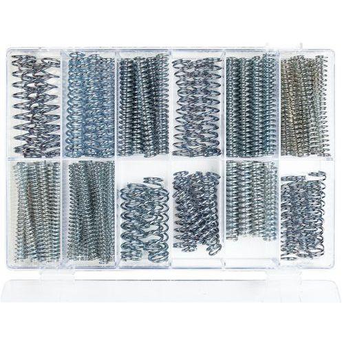 Coffret de ressorts de compression - Longueur 75 à 100 mm - 121 pièces
