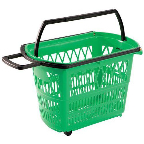 Einkaufskorb - Mit Rollen