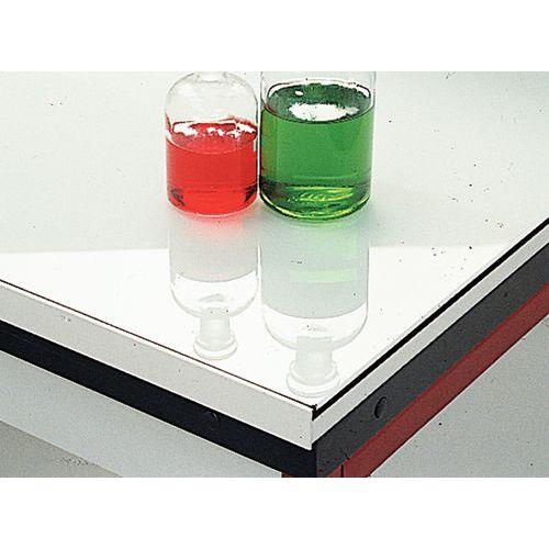Modulares Eckmöbel Für Labore Emailliertes Glas Ohne Rückwand