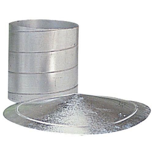 Collier de serrage support pour gaines de ventilation - Ø 80 à 125 mm