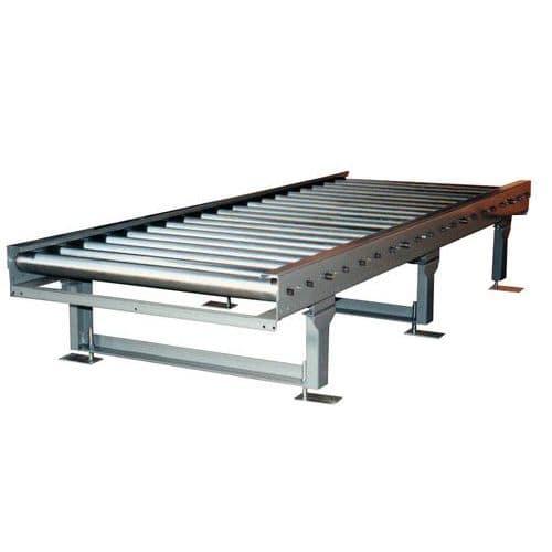 Transporteur PML - À rouleaux acier - Pour palettes largeur 800 mm
