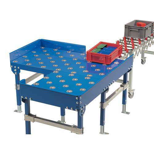 Table à bille pour transporteur - Modèle standard