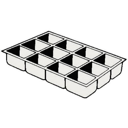 casier de rangement pour tiroirs 6 cm manutan. Black Bedroom Furniture Sets. Home Design Ideas