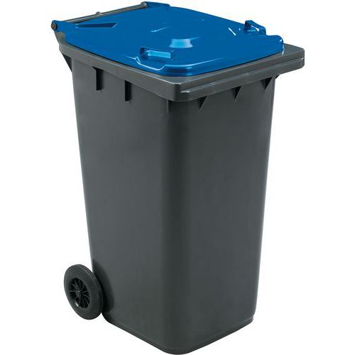 Conteneur mobile tri des déchets - 240 L - Manutan