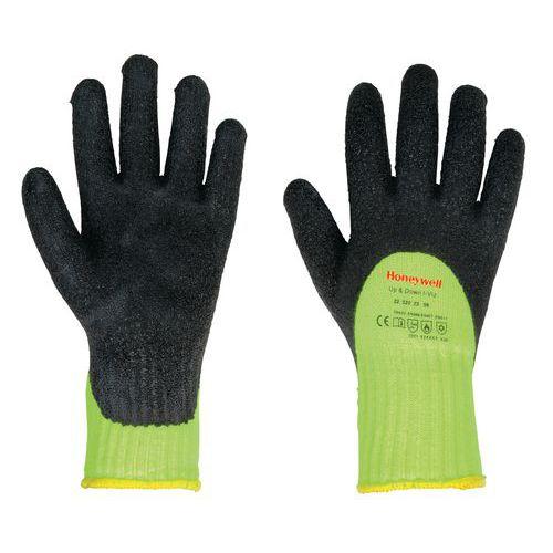 Kälteschutzhandschuhe Up&down, hohe Sichtbarkeit- gelb