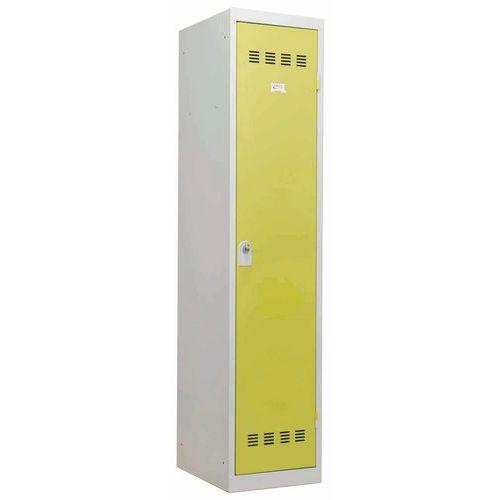 Vestiaire industrie salissante - 1 colonne - Largeur 400 mm