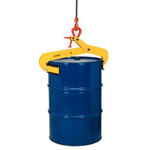 Halbautomatische Zange für Metallfässer- Senkrechter Verschluss- Tragkraft 500 kg