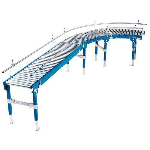 Transporteur gravitaire TRS - À rouleaux acier Ø 60 mm longueur 700 mm
