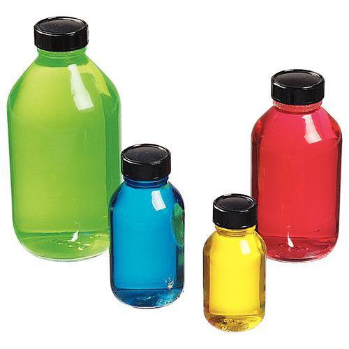 Weithals-Glasflasche