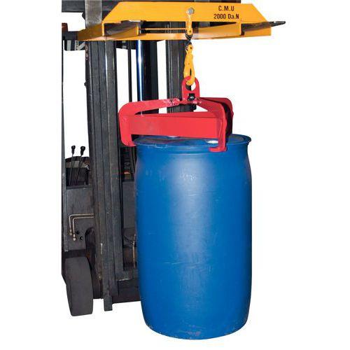 Pince à fûts automatique et semi-automatique - Force 600 kg