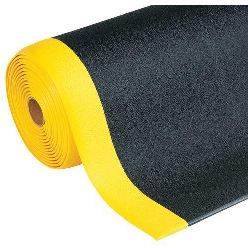 Tapis antifatigue ergonomique - Surface granuleuse - En rouleau - Manutan