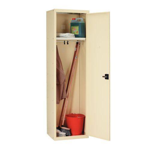 putzschrank f r reinigungsmaterial auf sockel manutan schweiz. Black Bedroom Furniture Sets. Home Design Ideas