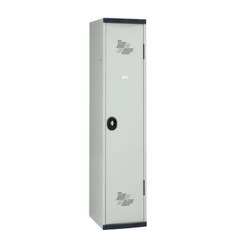Vestiaire Seamline Optimum® - Colonne largeur 400 mm - Sur socle - Acial