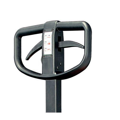 manueller hubwagen mit bremse gabell nge 1220 mm tragkraft 3. Black Bedroom Furniture Sets. Home Design Ideas