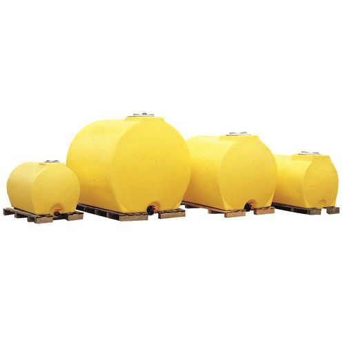 Citerne multi-usages anti-UV - Citerne + vanne