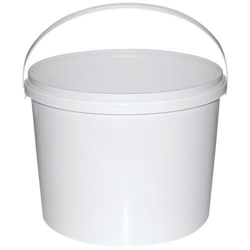 2.5 Liter Plastikeimer Mit Deckel 10 St/ück