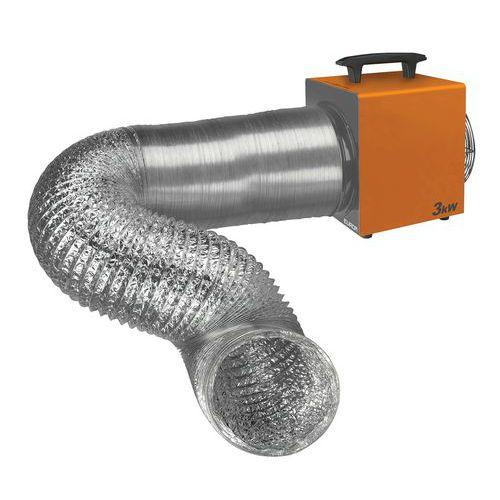 Conduit flexible 5 mètres - Heat-Duct Pro 3.3kW et 9kW - Eurom