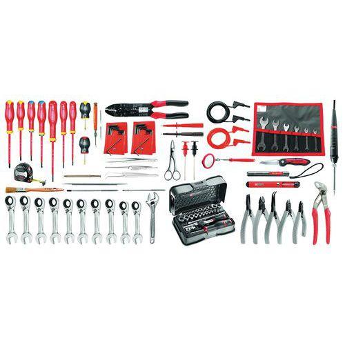 Composition électricien 102 outils 2138.EL34 - Facom