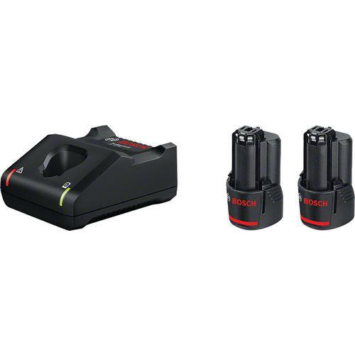 Set de 2 batteries 12V et chargeur rapide - Bosch