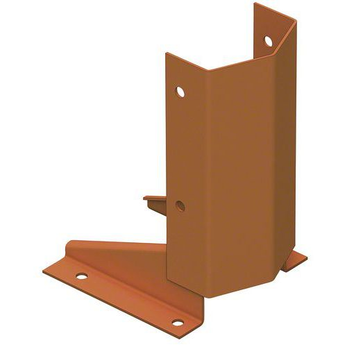 Sabot protection montant d'échelle Stock-Pallet - Mecalux